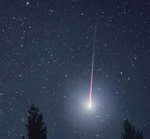 great ball  fire shooting star spotted  ireland