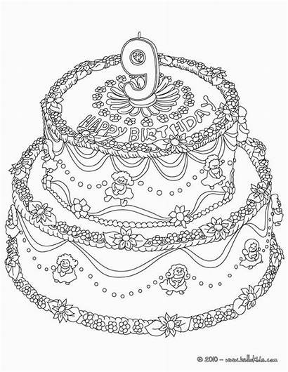 Coloring Pages Olds Birthday Happy Printable Uteer