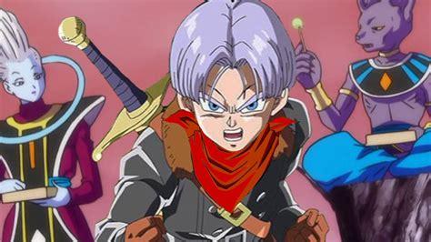 omfg future trunks returns  dragon ball super anime