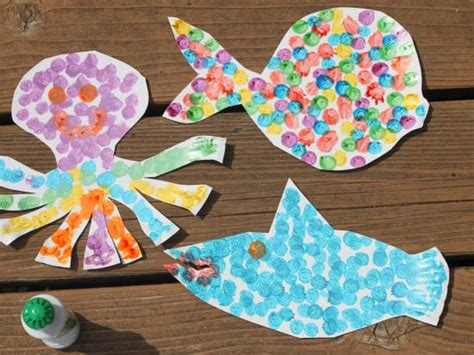 and craft ideas for sea animals science activities for preschoolers salt 7397