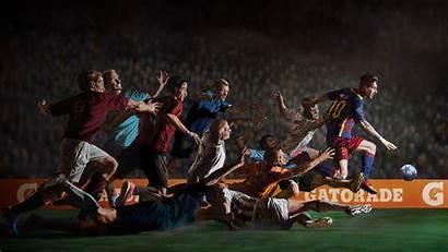Barcelona Fc Wallpapers Desktop Messi Soccer Commercials