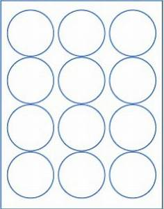25 sheets 2 1 2quot round blank white stickers labels circle With blank round sticker labels