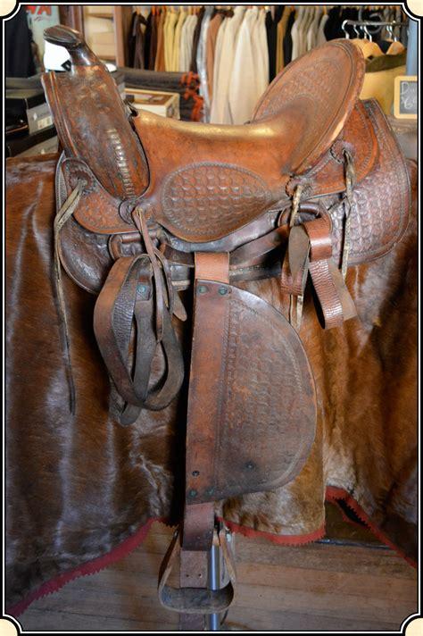 saddle antique ride ready