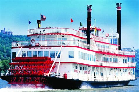 Ohio River Boat Cruises by Bb Riverboats South Riverfront Cincinnati Food And