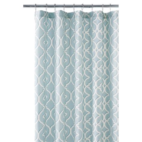home depot shower curtains home decorators collection nuri 72 in shower curtain in