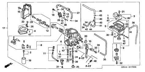 2001 Honda Rancher 350 Wiring Diagram by Honda Rancher 350 Parts Diagram Honda Wiring Diagram Images