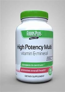 High Potency Multivitamin  U0026 Mineral Formula