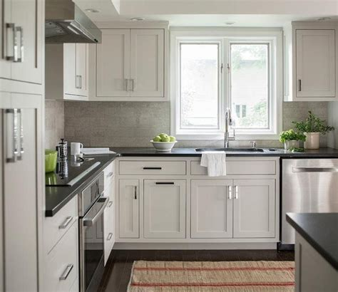 White Kitchen Cupboards With Black Countertops by Honed Black Quartz Kitchen Countertops Kitchen Ideas In