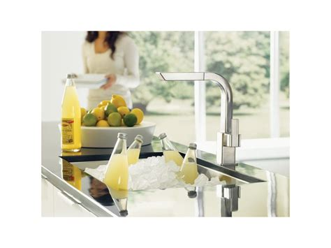 Moen 90 Degree Faucet Kitchen by Faucet Com S7597c In Chrome By Moen