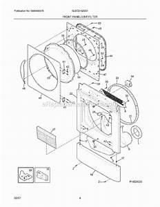 Frigidaire Gleq2152es1 Parts List And Diagram