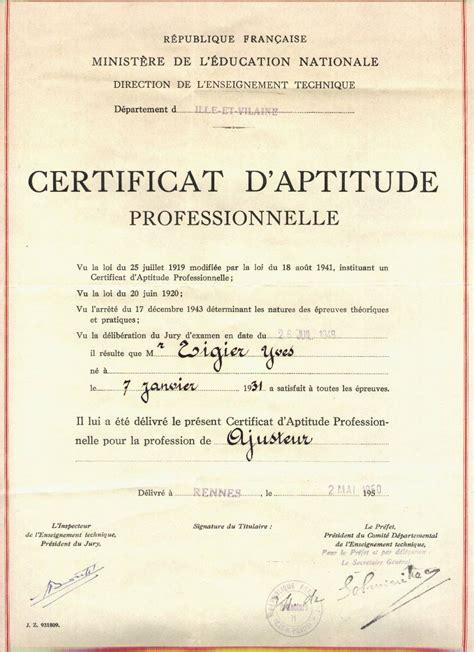 dijon cuisine certificat d 39 aptitude professionnelle wikipédia