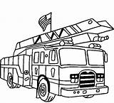 Coloring Truck Fire Printable Engine Lego Toddlers Getcolorings Everfreecoloring Popular sketch template