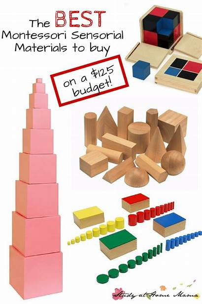 Montessori Materials Sensorial Material Classroom Activities Spend