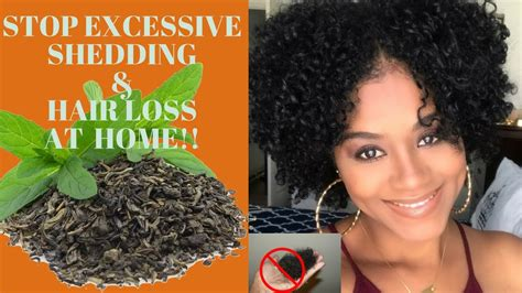 excessive hair shedding stop excessive shedding hair loss at home green tea rinse