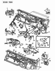 1993 Chrysler New Yorker Salon Wiring