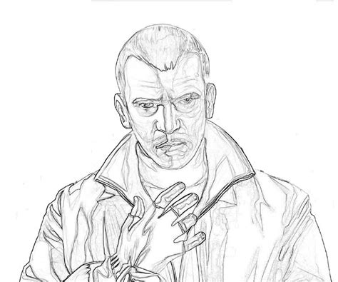 Gat Kleurplaat by Grand Theft Auto V Coloring Pages Grand Theft Auto Bad