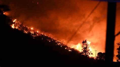 terrifying   lake fire   shared