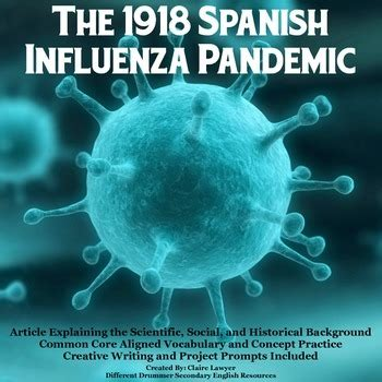 spanish influenza epidemic article worksheets