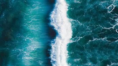 Ocean Wave Surf Background Foam 1080p Laptop