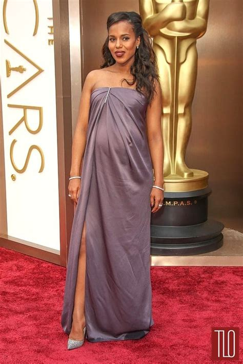 kerry washington oscars  strapless formal dress red carpet gown thecelebritydresses