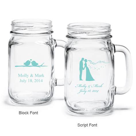 Shower Assembly by Tiffany Blue Personalized Mason Jar Drinking Glass