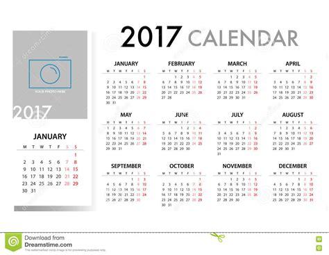 2017 Calendar Planner Design. Stock Illustration Business Letter Of Intent Samples Cards Printing Weybridge Sample Plan Chicken Egg Production Japanese Electronics Shop Educational Consultancy Milestones Template Example Word
