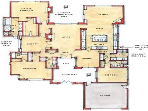 open modern floor plans modern open floor plans single open floor plans