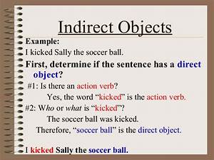 Direct And Indirect Object  U2013 English Is Fun