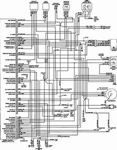 Engine Control Wiring Diagram Of 1988 Dodge W100  61162