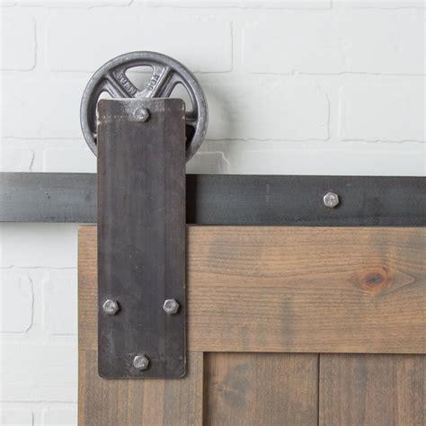 barn door locks aspen flat track hardware kit barndoorhardware