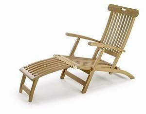Chaise Teck Jardin : chaise longue de jardin en teck massif collection rinca ~ Teatrodelosmanantiales.com Idées de Décoration