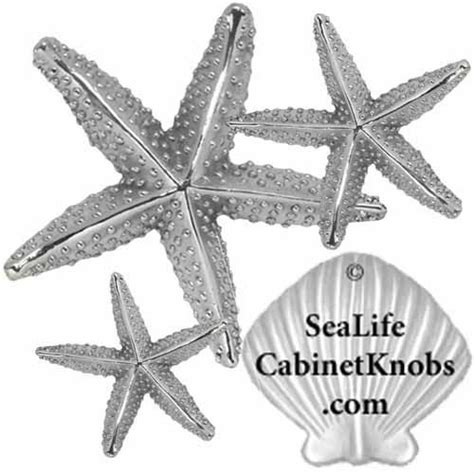 starfish cabinet knob brushed nickel 17 best images about starfish cabinet pulls on