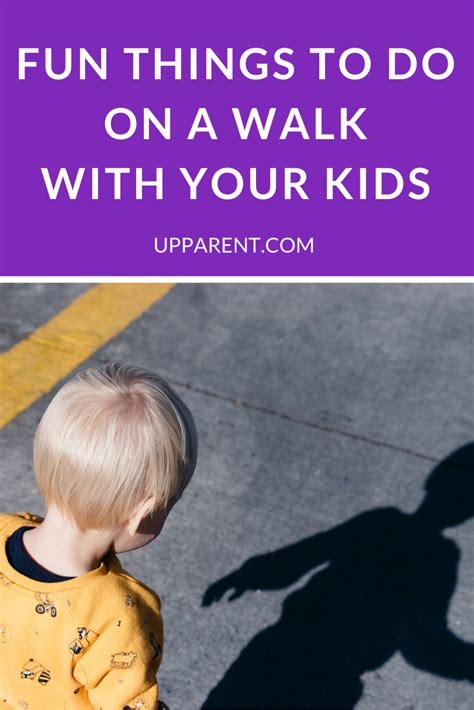Fun Things to Do on a Walk With Your Kids in 2020