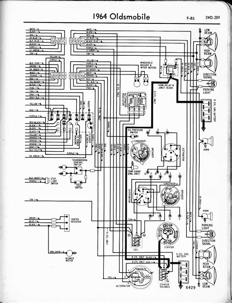 1958 Oldsmobile Ignition Switch Wiring Diagram by Oldsmobile Wiring Diagrams The Car Manual Project