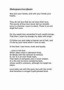 Shakespeare Love Quotes - Quotes Of The Day - Shakespeare ...
