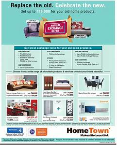 annual exchange offer on all furnishings and furniture at With hometown furniture exchange offer