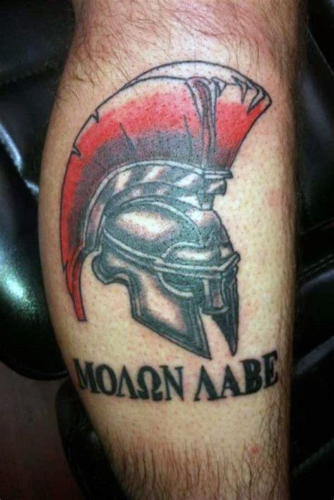 molon labe tattoo designs  men tactical ink ideas
