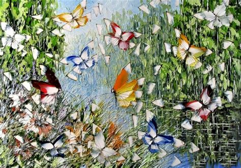Whimsical Animal Wallpaper - whimsical butterflies f2 butterflies animals