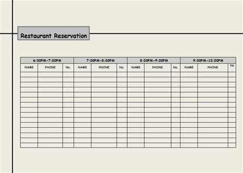 restaurant reservation templates charlotte clergy coalition