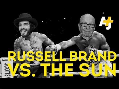 russell brand soas russell brand v press lord rupert murdoch who won
