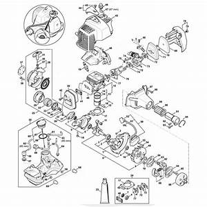 Stihl Fs94 Engine Up To 514977340 Assembly