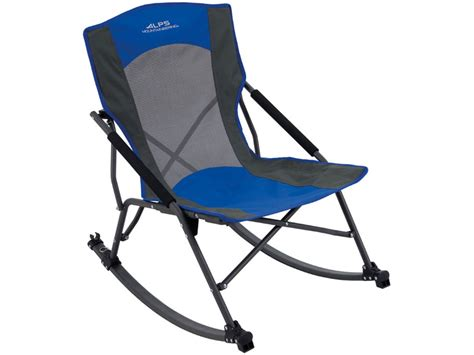 alps mountaineering c chair steel blue alps mountaineering low rocker c chair blue