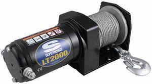 Superwinch Lt2000 Atv Winch - Wire Rope