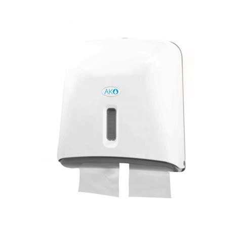distributeur papier toilette feuille 224 feuille ako 4 paquets