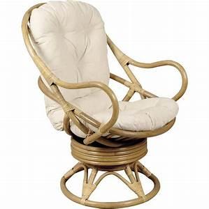 Pouf En Osier : coussin pour fauteuil en osier ~ Teatrodelosmanantiales.com Idées de Décoration