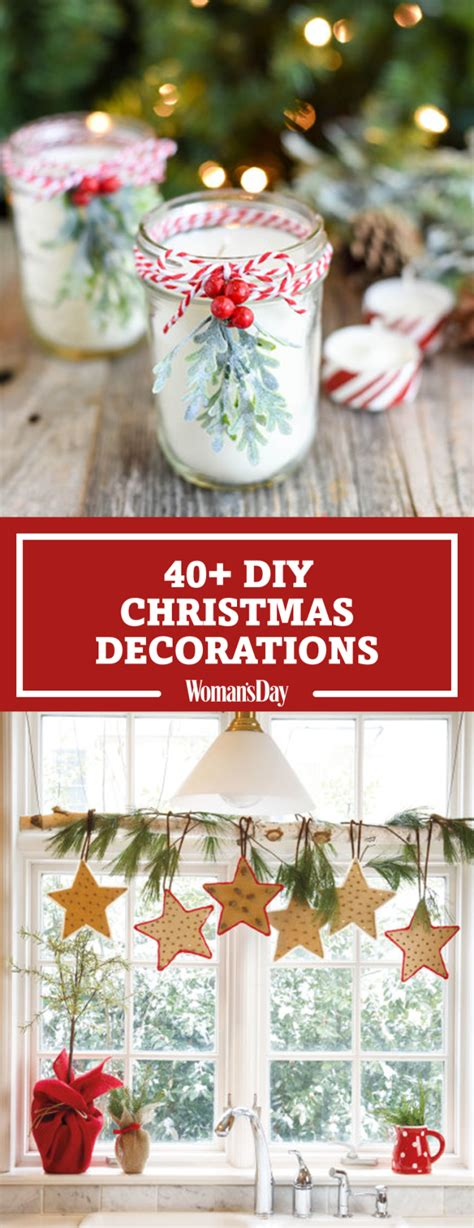 easy diy christmas decorations homemade ideas