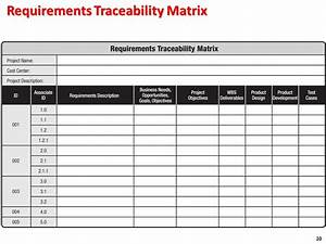 requirement traceability matrix idealvistalistco With requirement traceability matrix template