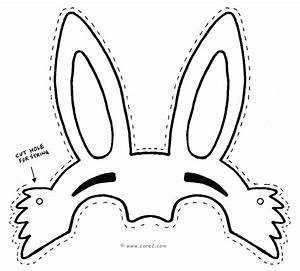 easter bunny outline clipartsco With easter hat template printable