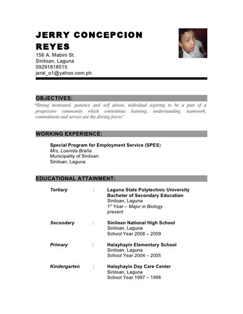 Criminology Resume Objective by Resume