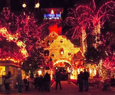 holiday lights shows in southern california